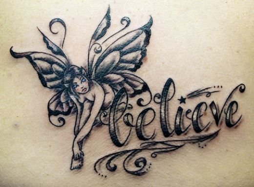 Belief Tattoo Quote